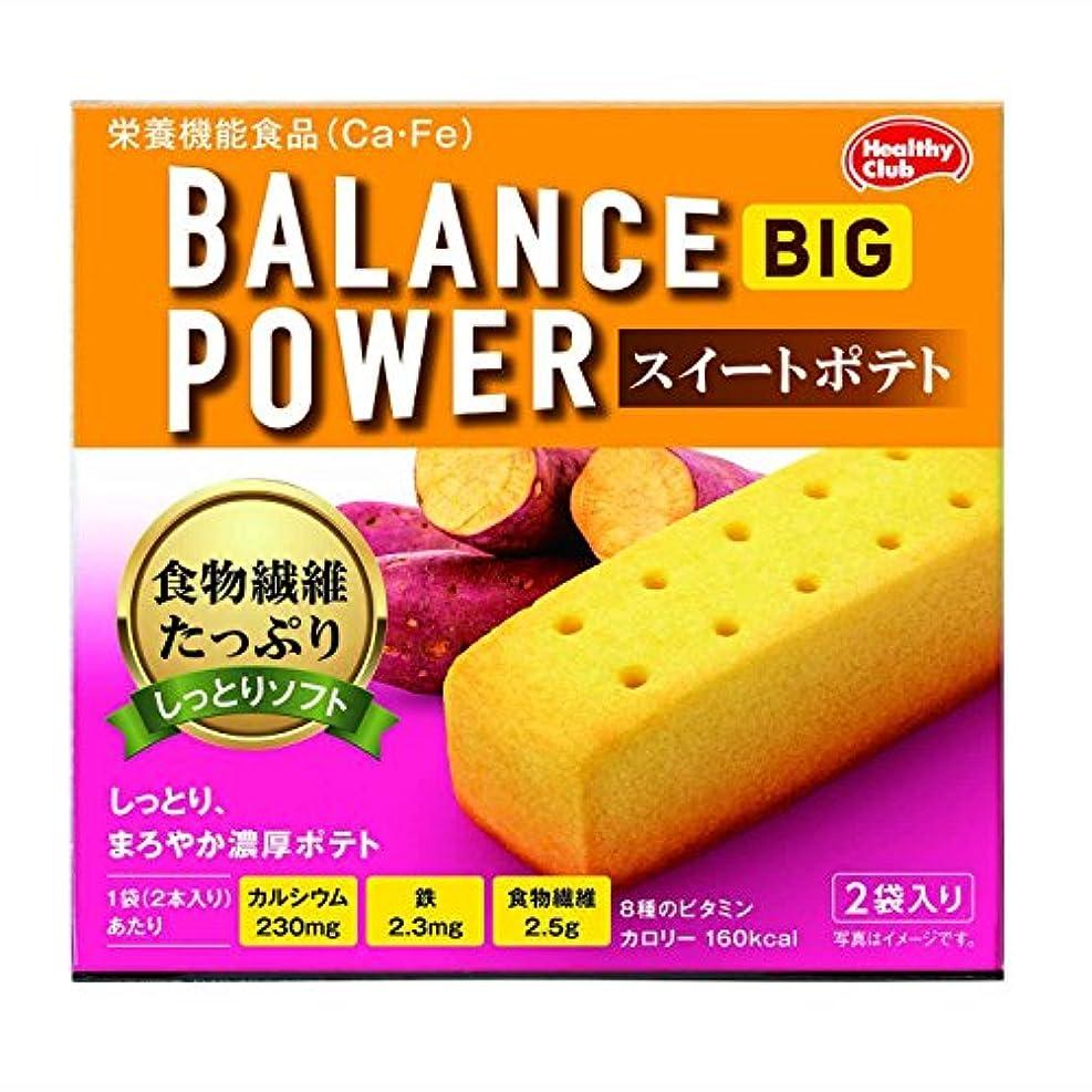 新聞自伝同志ハマダコンフェクト バランスパワービッグ スイートポテト 2袋【4個セット】