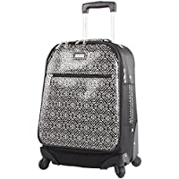 "Nicole Miller Teagan 20"" Long Bound Expandable Spinner Wheeled Suitcase"