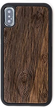 Reveal iPhone X/Xs Case - Extra Protective Real Wood iPhone X/Xs Case with TPU Rubber Layer for Extra Protection - Intricate