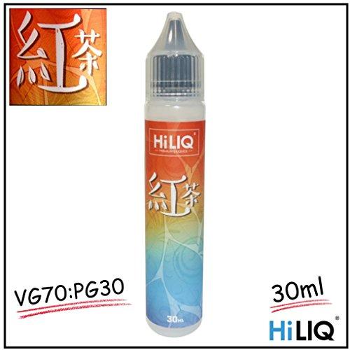 電子タバコ リキッド 紅茶 HILIQ ハイリク Liquid 30ML 80%VG:20%PG