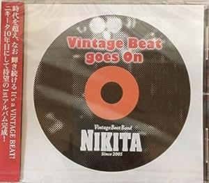 ニキータ ヴィンテージビート ゴーズオン(涙のリフレイン収録) VINTAGE BEAT GOES ON