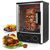 NutriChef PKRT97 Multi-Function Vertical Oven with Bake, Rotisserie & Roast Cooking, , N/A by NutriChef