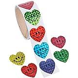 [ファンエクスプレス]Fun Express Smiley Hearts Stickers 9-617 [並行輸入品]