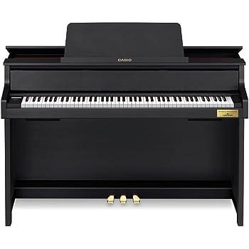 カシオ 電子ピアノ(ブラックウッド調)【高低自在椅子&ヘッドホン&楽譜集付き】CASIO CELVIANO Grand Hybrid(セルヴィアーノ) GP-300BK