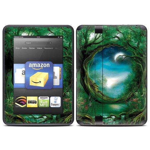 DecalGirl スキンシール Kindle Fire HD(2012年モデル)専用スキン - Moon Tree