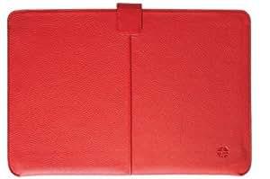 TREXTA(トレックスタ) MacBook Air 13インチ用 本革レザーケース KECHI(ケチ) フローターレッド 12140