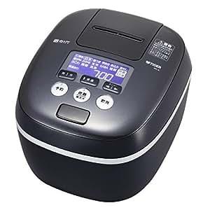 タイガー 圧力IH炊飯ジャー(5.5合炊き) アーバンブラックTIGER 炊きたて JPC-A102-KE