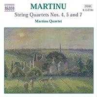 マルティヌー:弦楽四重奏曲全集3 弦楽四重奏曲第4番, 第5番, 第7番(室内協奏曲)