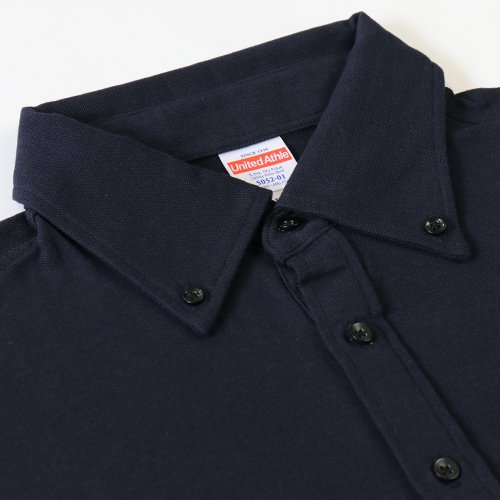 REAL(レアル)オリジナル ポロシャツVer.2 ネイビー XLサイズ REAL-PS2-NV-XL