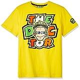ヤマハ(YAMAHA) Tシャツ ロッシ VR46 Tシャツ 46&ザ・ドクターロゴ イエロー XLサイズ(欧州) Q5D-YSK-292-00X