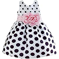 Princess Baby Kids Girls Party Wedding Polka Dot Flower Gown Fancy Dress