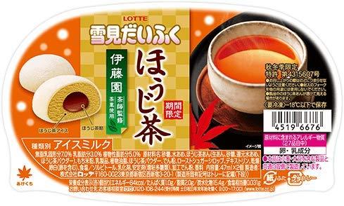 雪見だいふく ほうじ茶「ほうじ茶餡」入り 94ml(47ml×2個)×25個
