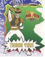 Power Rangers Thank Youカード