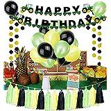 誕生日パーティー用品 誕生日パーティー用バナー バルーン 飾り房 誕生日パーティー トラック 建設装飾キット パーティーの景品 農業用トラクター ジョンディアテーマ ベビーシャワー 男の子 女の子 誕生日