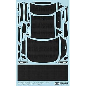 タミヤ 1/24 ディテールアップパーツシリーズ No.59 トヨタ 86 デカール カーボンパターン プラモデル用パーツ 12659