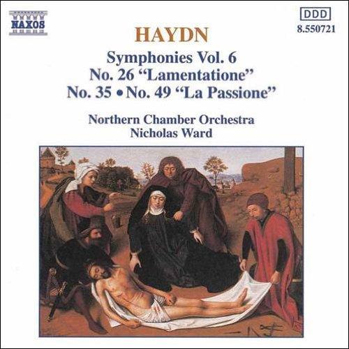 ハイドン:交響曲第26, 35, 49番