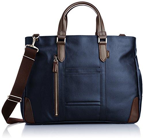 [エバウィン] ビジネスバッグ 日本製 撥水加工 21598 NV ネイビー