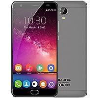 OUKITEL K6000 Plus スマートフォン 6080mAhバッテリー simフリー(au不可) MTK6750T オクタコア 5.5インチ 2.5D FHD 1920 * 1080 スクリーン Android 7.0 4GB RAM+64GB ROM 8MP+16MP 指紋認識 高速充電 OTG KKmoonスタンドつき 国内用充電器つき