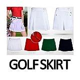 PUMA ゴルフウェア STARDUST ゴルフ スカート 女性 スポーツウェア GOLF (S ブラック) SD-GO-BK-S