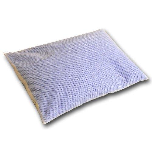 日本製 洗える パイプまくら 35×50cm ブルー スタンダードパイプ バージンパイプ使用