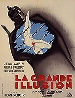 La Grande Illusionヴィンテージポスター(アーティスト:ランシー)フランスC。1937 24 x 36 Giclee Print LANT-59932-24x36