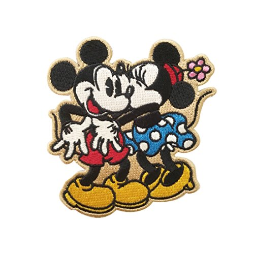 ディズニー ワッペン ミッキー&ミニー ほっぺにちゅ APDS2740