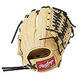 ローリングス(Rawlings) 野球用 ジュニア軟式 HYPER TECH R9 SERIES [投手・内野手用] サイズL GJ1R9N6L1 キャメル サイズ L ※左投用