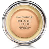 Max Factor Miracle Touch, Compact Foundation Liquid Illusion 75 Golden 11.5ml