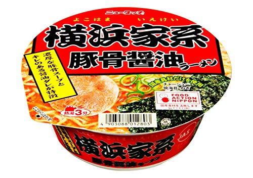ニュータッチ 横浜家系豚骨醤油ラーメン 108g×12個