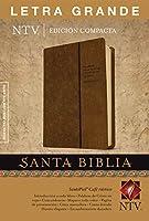 Santa Biblia / Holy Bible: Nueva Traduccion Viviente cafe rustico sentipiel