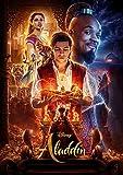 映画 アラジン ポスター 2019 Aladdin ガイ・リッチー ウィル スミス ジーニー ジャスミン メナ マスード ナオミ スコット ディズニー DISNEY
