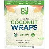 Nuco Nuco Organic Raw Coconut Wraps 70g (5x14g), 70 g