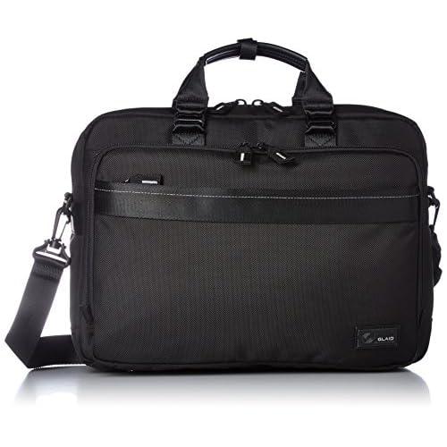 [アジア・ラゲージ] A.L.I ビジネスバッグ 3WAY A4ファイル収納可能 キャリーON機能 多機能ポケット メンズ AG-1637 AG-1637 BK (ブラック)