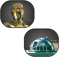 ナポレックス 日除け スターウォーズ・カーグッズ ぱっシェード C-3PO&R2-D2 SW-3