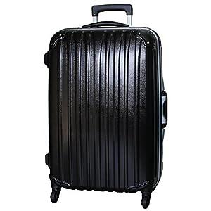 (ビータス) Beatas スーツケース TSAロック 軽量 アルミフレーム ビータス BH-F1000 Mサイズ エンボスブラック(中型 4日5日6日7日用) 【一年修理保証】【M/E-BK】SUITCASE