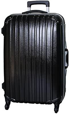 [ビータス] スーツケース ハード 4輪 BH-F1000 保証付 80L 76 cm 6kg エンボスブラック
