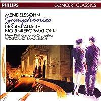 Mendelssohn: Symphonies 4 & 5