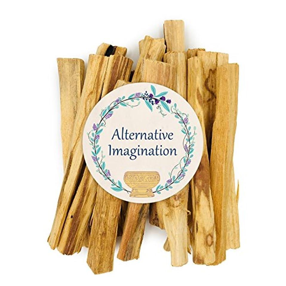 部族優越笑プレミアムPalo Santo Holy Wood Incense Sticks 2 ozパックfor purifying、クレンジング、ヒーリング、瞑想、Stress Relief。100 %自然と持続可能な、野生の収穫。