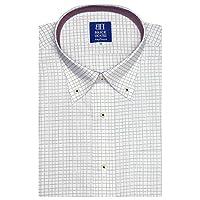 ブリックハウス ワイシャツ 半袖 形態安定 ボタンダウン 新体型 メンズ BM019213AA45B1A-84 ピンク・レッド 39(半袖)