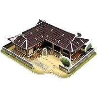CubicFun 3d Puzzle - tile-roofed house
