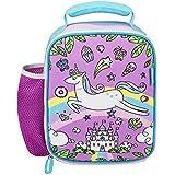 Kids Lunch Bag Girls Baby Unicorn Neo prene Insulated Preschool Day Care Toddler Lunch Box