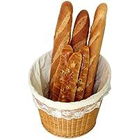 収納 かご バスケットックス 黄色の竹籐のパンのバスケットキッチンフルーツストレージバスケットパントレイストレージバスケットナチュラルプラントブドウ純粋な手織り Rollsnownow