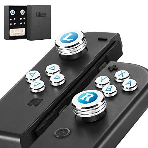 Epindon Cap-Con C1 Switch Joy-Conコントローラーに適合するアナログス...