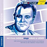 Nicolai Gedda Sings Arias & Lieder by VARIOUS ARTISTS (2012-03-27)