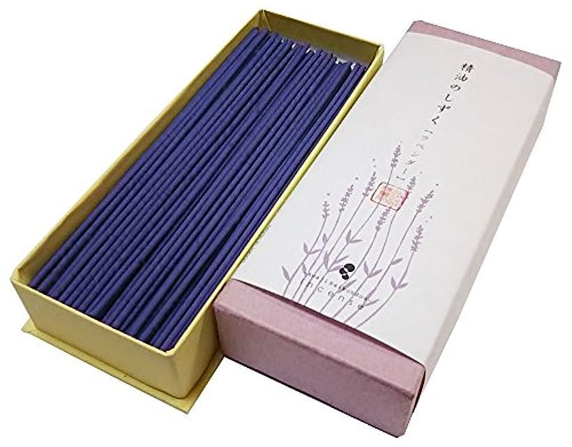 オーケストラ伝統的ジャム淡路梅薫堂 お香 お線香 天然香料 精油のしずく ラベンダー (30g)