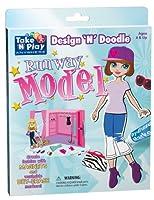 Runway Model - Design 'N' Doodle by Take 'N' Play Anywhere Activities