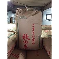 30年産 秋田県産 あきたこまち 玄米30kg (15×2)