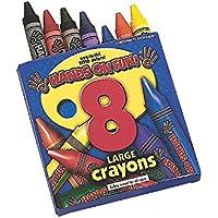 8-color Largeクレヨン( 12ボックス)