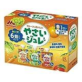 ★【さらにクーポンで10%OFF】森永 フルーツでおいしいやさいジュレ 70g×6袋が特価!