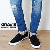 (グラビス) GRAVIS スニーカー COASTER LX BLACK gvs-1773 16286100001 23cm
